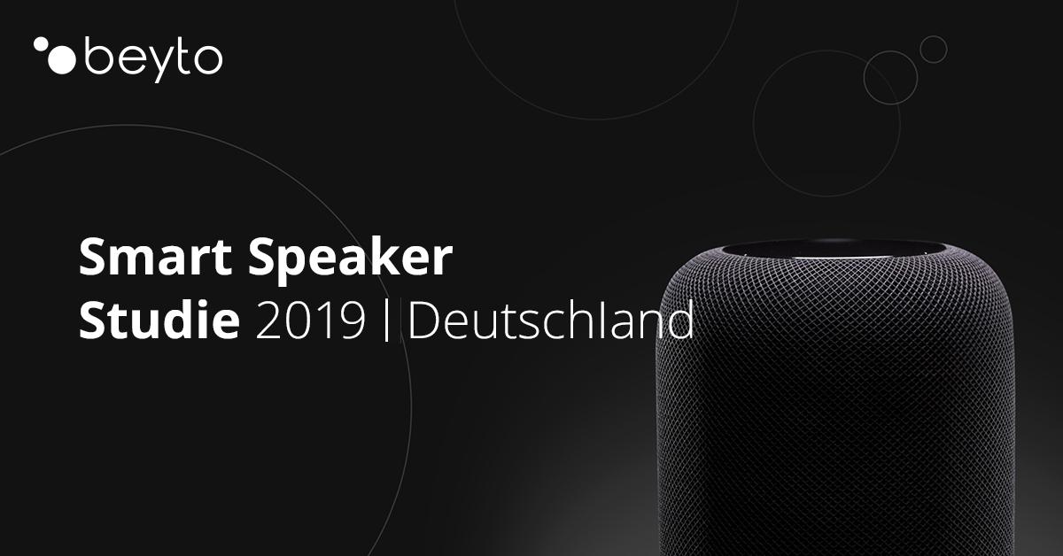 Smart Speaker Studie 2019 | Deutschland